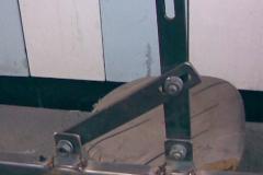 Rektifikovatelna konzole lamelovych vrat